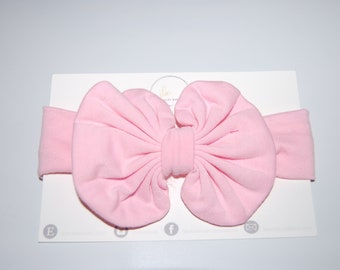Pink baby hair bow, baby bow, baby accessories, gifts under 20, baby girl,