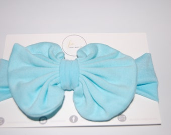 Aqua blue baby hair bow, baby bow, baby accessories, gifts under 20, baby girl,