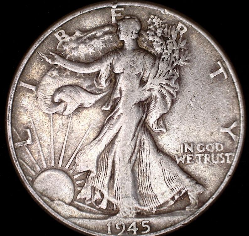 1916-1947 Walking Liberty Half Dollar 90% Silver image 0