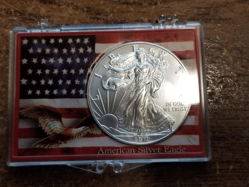 2019 American Silver Eagle 1oz image 0