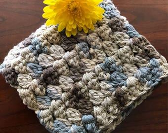 100% Cotton Crochet Washcloth Cotton Crochet Dischcloth