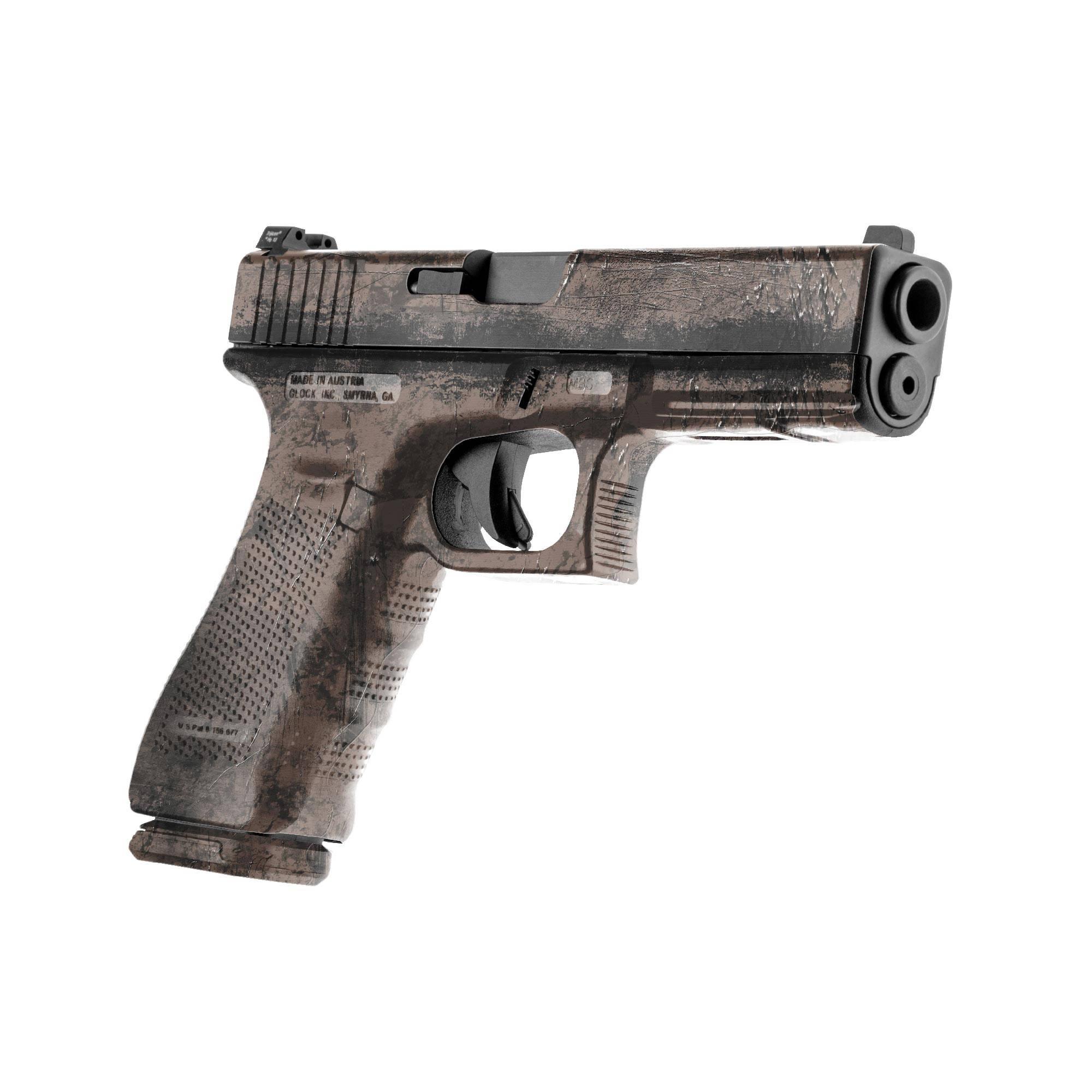 Gunskins Pistol Skin Specialty Gun Wrap Battleworn Dark Etsy