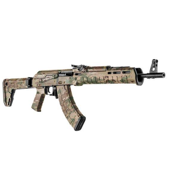 Gunskins Ak 47 Rifle Skin Camouflage Gun Wrap Gs Military Ocp