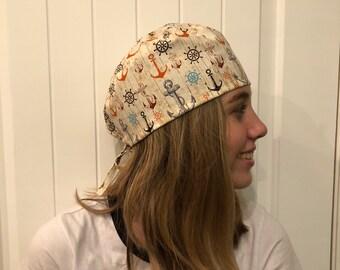 Anchor Scrub Hat