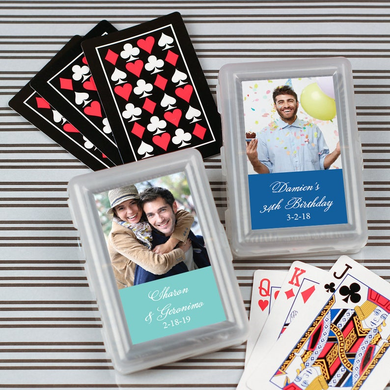 12pcs Picture Perfect Personalized Playing Cards Playing