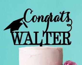 Graduation Personalized Cake Topper (PPD-JM79028)