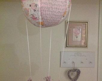 Handmade Hot Air Balloon Mobile