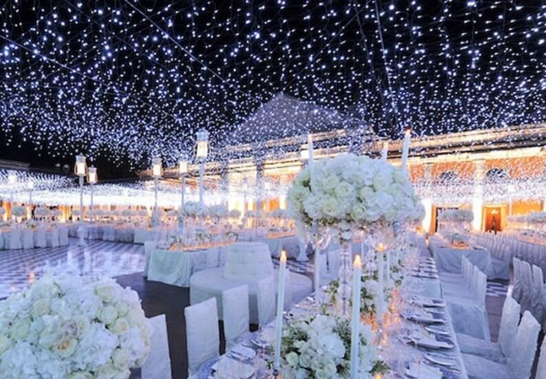 164 Feet 400 Led String Fairy Lights Wedding Garden Party Xmas Etsy