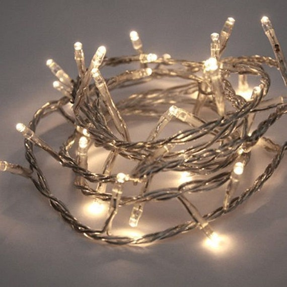 30 Led Mini String Lights With Timer 9ft Battery Operated Fairy String Lights Centerpieces Party Lights Outdoor Wedding Room Decor