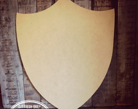 Unfinished, Shield, Mid Evil, Door, Hanger, DIY, Blank, Wood, Cut, Out, Ready, To, Paint, Fall, Summer, Christmas, Custom, Wholesale