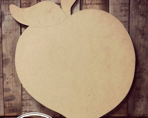 Unfinished, Peach, Farmhouse, Door, Hanger, DIY, Blank, Wood, Cut, Out, Ready, To, Paint, Fall, Summer, Christmas, Custom, Wholesale