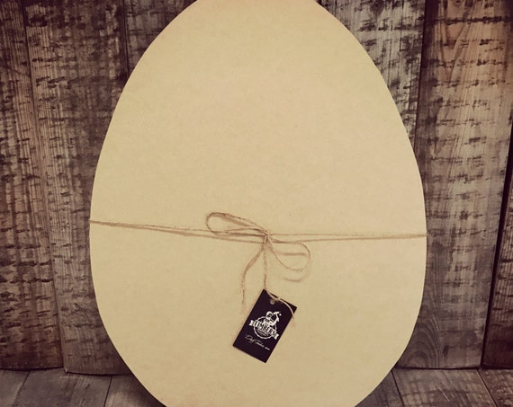 Unfinished, Easter, Egg, Door, Hanger, Diy, Blank, Wood, Cut, Out, Ready, To, Paint, Custom DT2082