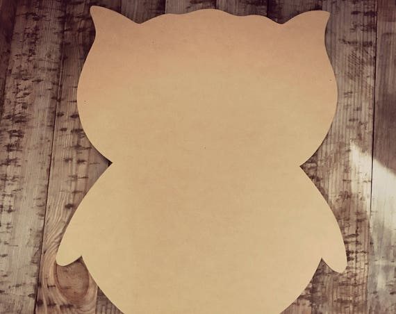 Unfinished, Owl, Door, Hanger, Summer, Beach, DIY, Blank, Wood, Cut, Out, Ready, To, Paint, Custom,Wholesale