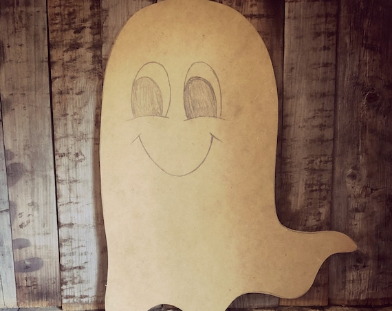 Unfinished, Ghost, Door, Hanger, Halloween, Fall, DIY, Blank, Wood, Cut, Out, Ready, To, Paint, Custom, Wholesale, DT2105