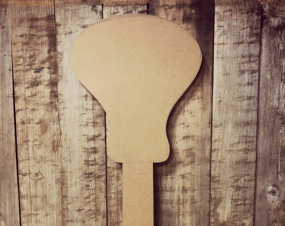 Unfinished, Lacrosse, Door, Hanger, DIY, Blank, Wood, Cut, Out, Ready, To, Paint, Fall, Summer, Custom, Wholesale