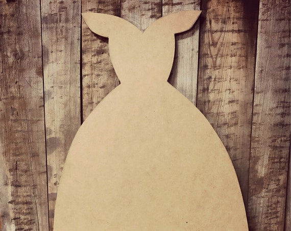 Unfinished, Dress, Kids, Party, Door, Hanger, DIY, Blank, Wood, Cut, Out, Ready, To,  Paint, Fall, Summer, Christmas, Custom