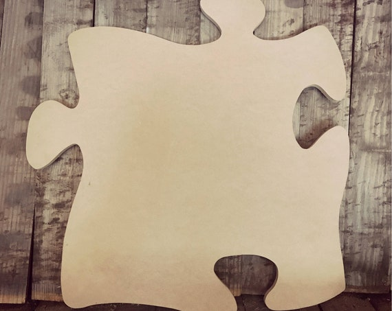 Unfinished, Puzzle, Piece, Door, Hanger, Fall, DIY, Blank, Wood, Cut, Out, Ready, To, Paint, Custom,Wholesale