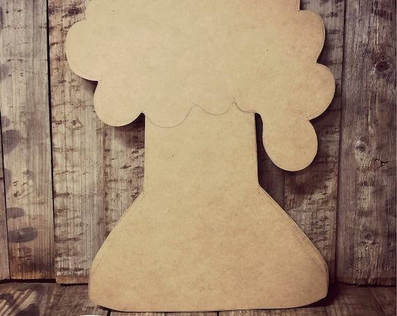 Unfinished, Beaker, Science, Door, Hanger, DIY, Blank, Wood, Cut, Out, Ready, To,  Paint, Fall, Summer, Christmas, Custom