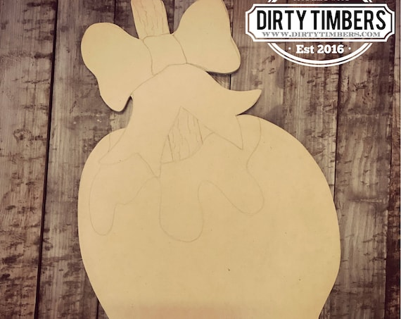 Unfinished, Candy, Apple, Halloween, Door, Hanger, Fall, Trick , Or, Treat, DIY, Blank, Wood, Cut, Out, Ready, To, Paint, Custom,Wholesale