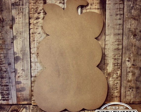 Unfinished, Pumpkin, Whimsical, Door, Hanger, Thanksgiving, Fall, Halloween, DIY, Blank, Wood, Cut, Out, Paint, Custom, Wholesale, DT2123