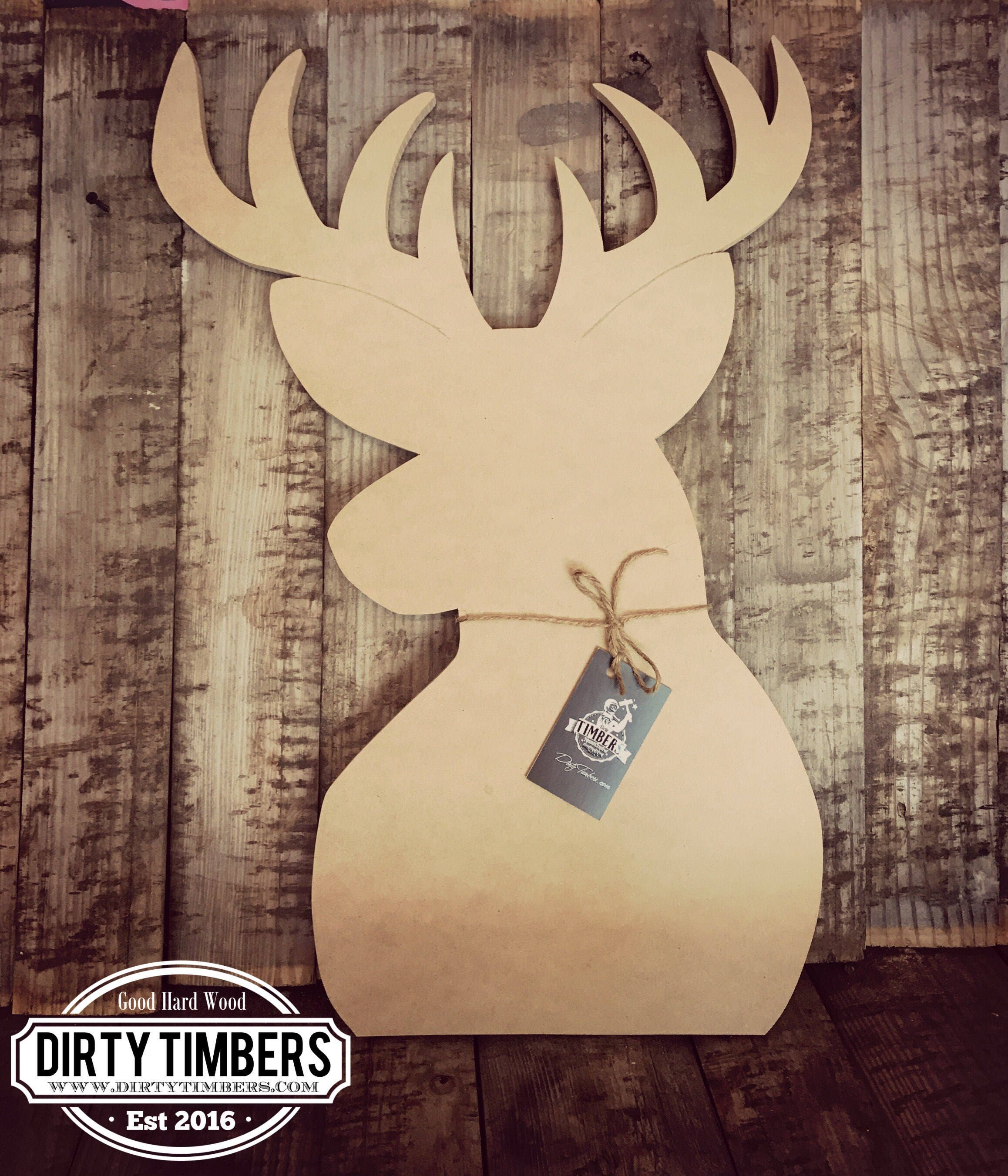 Unfinished Buck Deer Door Hanger DIY Blank Wood Cut Out Ready To Paint CustomWholesale & Unfinished Buck Deer Door Hanger DIY Blank Wood Cut Out ...