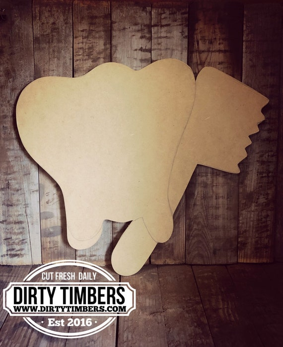 Unfinished, Tooth, Brush, Dentist, Door, Hanger, DIY, Blank, Wood, Cut, Out, Ready, To, Paint, Custom, Wholesale