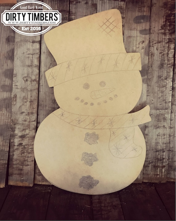 Unfinished, Snowman, Christmas, Door, Hanger, Winter, DIY, Blank, Wood, Cut, Out, Ready, To, Paint, Custom,Wholesale