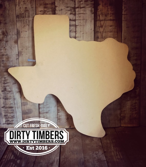 Unfinished, Texas, State, Door, Hanger, DIY, Blank, Wood, Cut, Out, Ready, To, Paint, Fall, Summer, Christmas, Custom, Wholesale