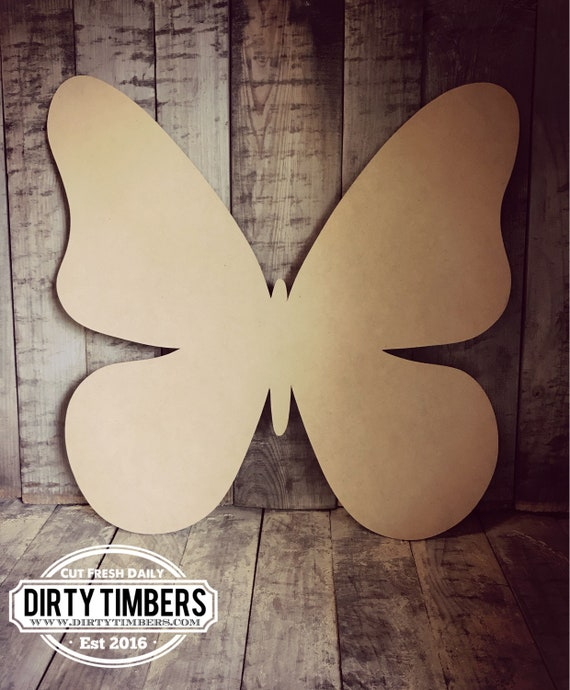 Unfinished, Butterfly, Door, Hanger, Summer, Beach, Pool, DIY, Blank, Wood, Cut, Out, Ready, To, Paint, Custom, Wholesale