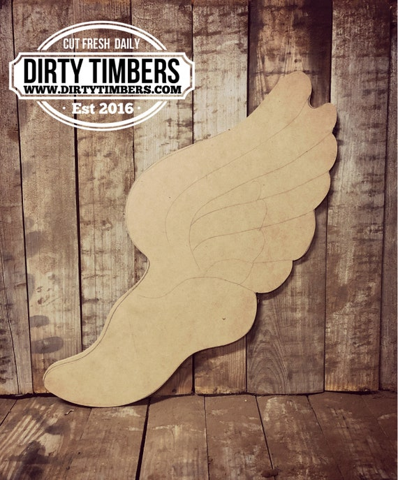 Unfinished, Track, Shoe, Cleat, Wings, Door, Hanger, DIY, Blank, Wood, Cut, Out, Ready, To,  Paint, Fall, Summer, Christmas, Custom