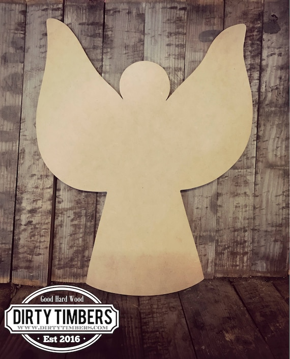 Unfinished, Angel, Tree, Christmas, Holidays, Ready to Paint, Door, Hanger, Decor, DIY, Blank, Cut Out, Wholesale