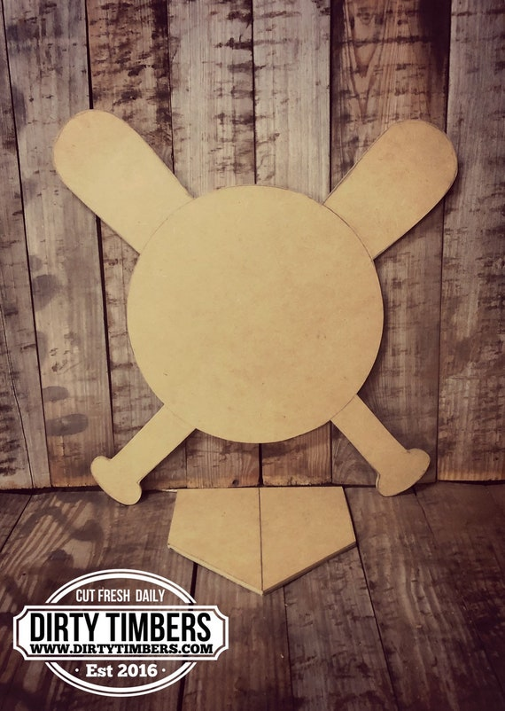 Unfinished, Baseball, Baby Announcement, Door, Hanger, DIY, Blank, Wood, Cut, Out, Ready, To, Paint, Fall, Summer, Christmas, Custom,