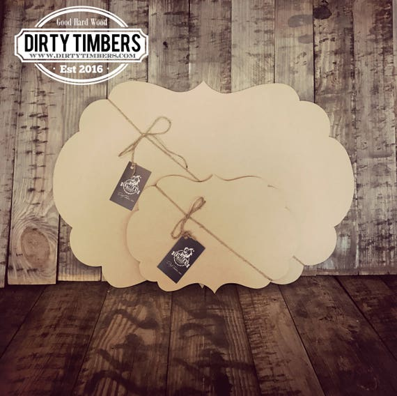 Unfinished, Boutique, Baby, Shower, Wedding, Sign, Door, Hanger, DIY, Blank, Wood, Cut, Out, Ready, To, Paint, Custom, DT2085