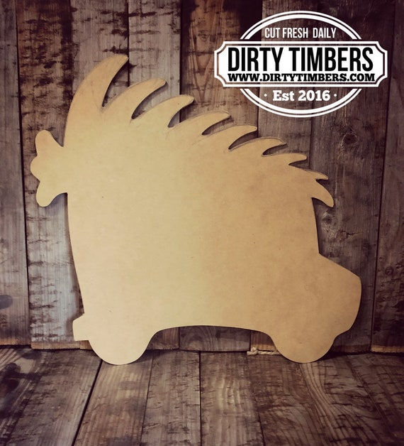 Unfinished , Truck, Christmas, Tree, Delivery Truck, Decor, Door, Hanger, Diy, Wood, Blank, Holiday Decor, Paint, Party, Wholesale