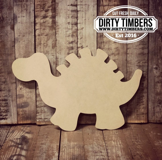 Unfinished, Dinosaur, Baby, Door, Hanger, DIY, Blank, Wood, Cut, Out, Ready, To, Paint, Fall, Summer, Christmas, Custom, Wholesale