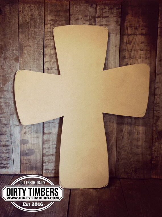 Unfinished, Cross, Square, Easter, Door, hanger, Summer, Farmhouse, DIY, Blank, Wood, Cut, Out, Ready, To, Paint, Custom, Wholesale