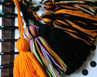 Halloween Planner Tassels - Yarn - 5 Choices