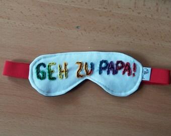 "Sleeping glasses ""Go to Papa"""