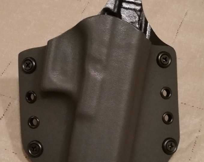 Gray OWB custom kydex holster