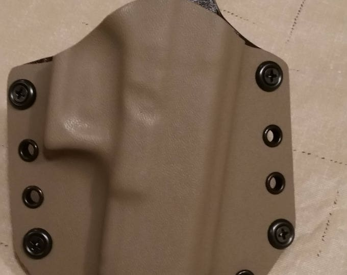 Flat Dark Earth OWB custom kydex holster