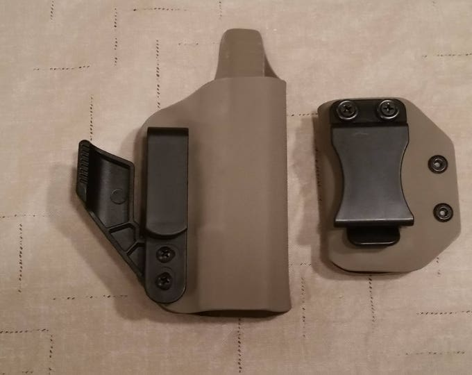 Combo IWB Kydex Holster and Mag Carrier Kit (Flat Dark Earth)