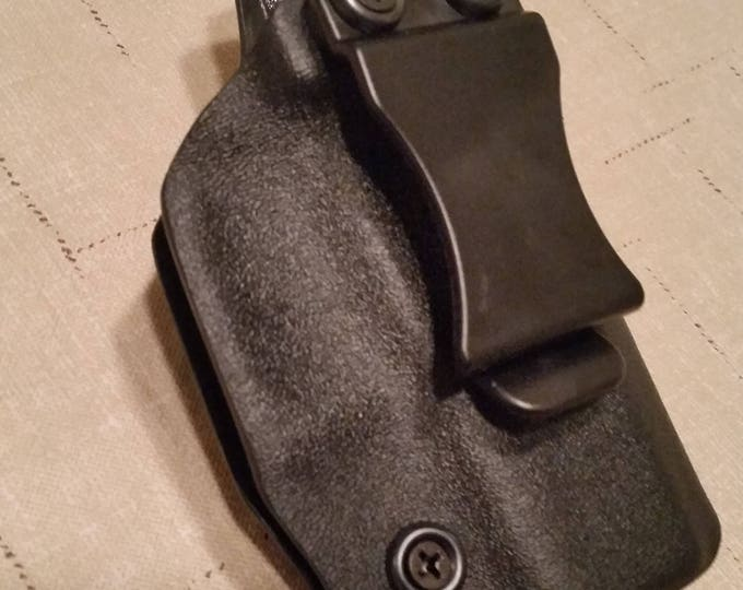 IWB black kydex holster