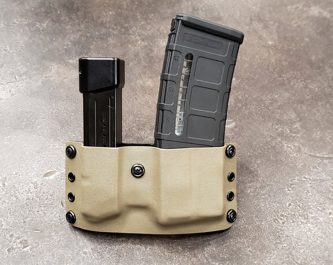 AR Mag Carrier w/ Pistol Mag Carrier