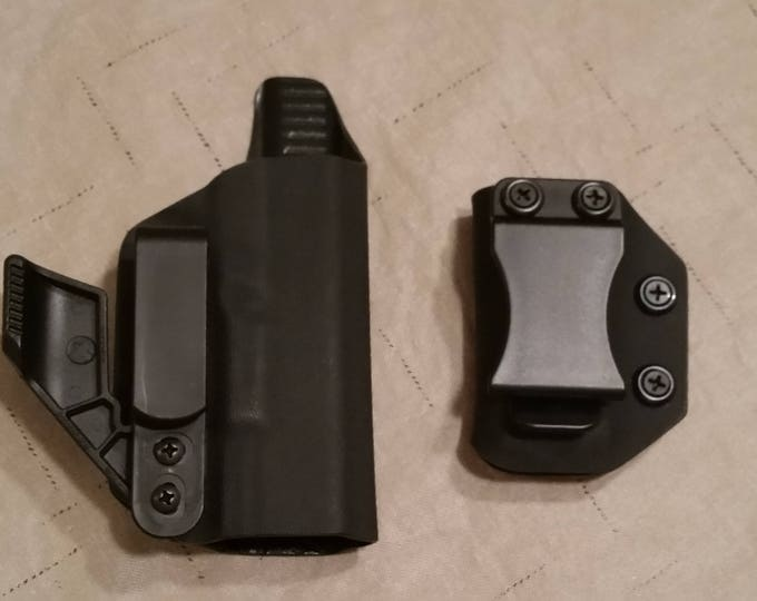 Combo Kydex IWB Holster and Mag Carrier Kit (Black)