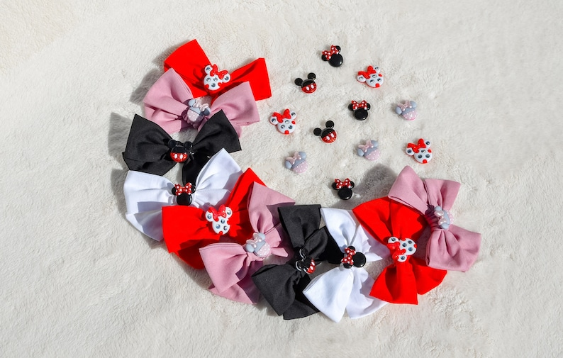 Black Mickey Mouse Bow