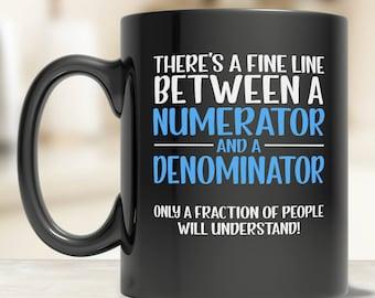 Gifts for Math Nerds - Math Teacher Gift - Algebra Teacher Mug - Math Coffee Mug - Math Teacher Mug - Math Mugs - Division Mug