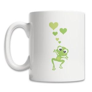 Frog Heart Gift Coffee Mug