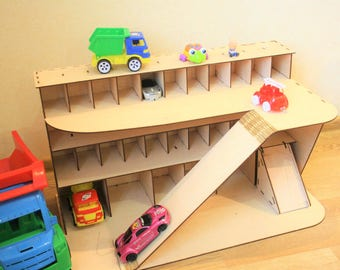 Toy Car Garage Etsy