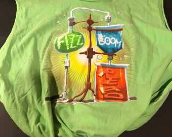 Upcycled Chemistry T-shirt Bag