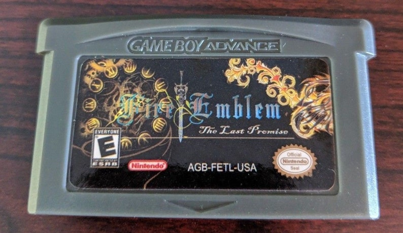 Fire Emblem Last Promise English Custom Game Boy Advance GBA